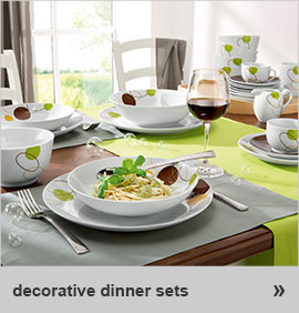 decorative dinner sets