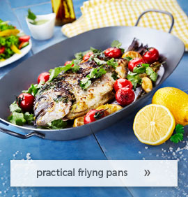 practical frying pans